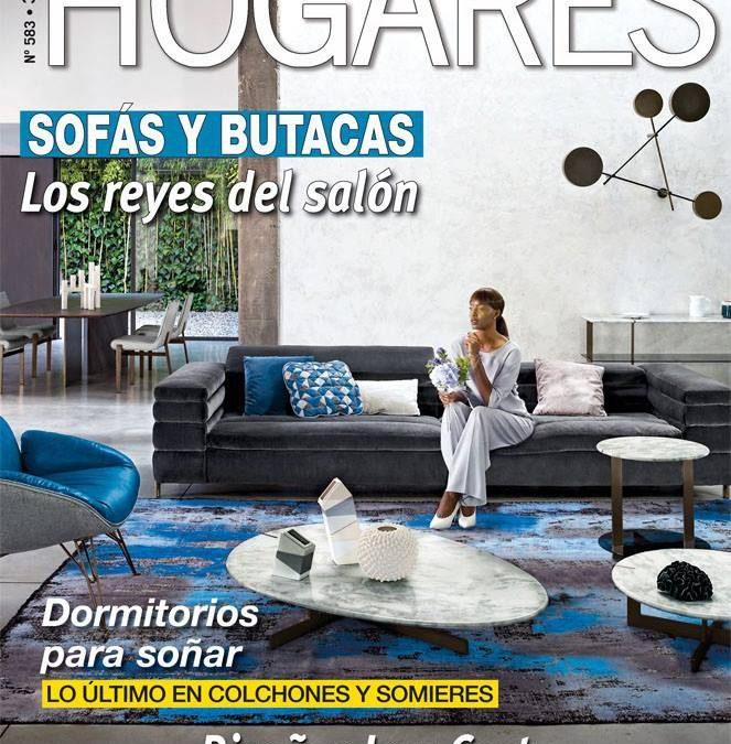 Aparición en revista Hogares