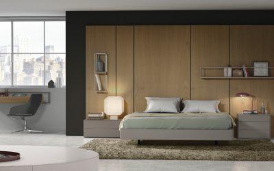 Dormitorio combinando piezas de diferentes colecciones