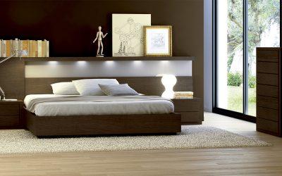 Dormitorio de la línea Chamfer