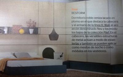Besform en la Revista Casa Viva de Junio