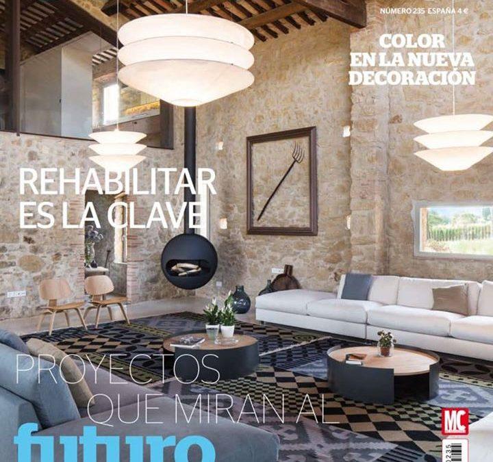 Aparición en la revista Casa Viva